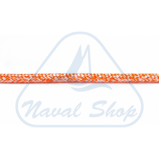 Malta Sail Factory MSF ROPES CALZATO DOPPIA TRECCIA CON ANIMA IN PEHT SK75 MELANGE ORANGE MM 10